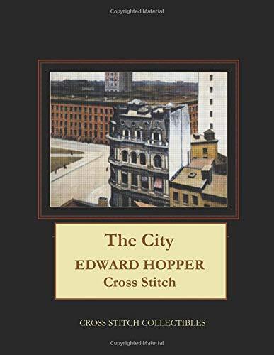 The City: Edward Hopper Cross Stitch Pattern por Cross Stitch Collectibles
