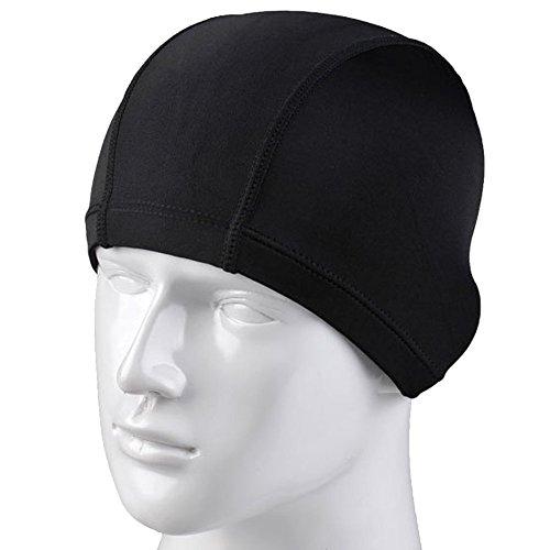 tininna-solid-color-lycra-cloth-fabric-swimming-swim-cap-hats-bathing-hats-for-adult-men-women-black