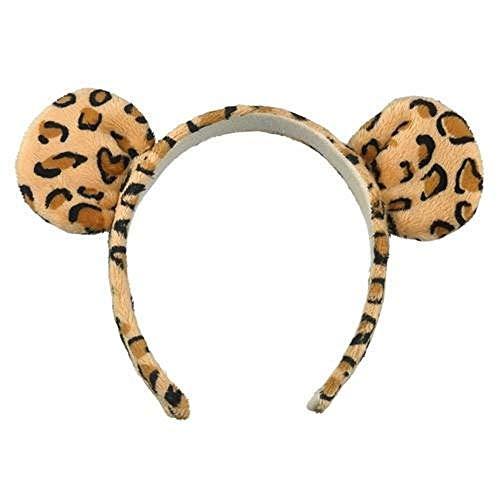 Wild Cat Kostüm - Jaguar Leopard Wild Cat Ohren Kopfband Kostüm Zubehör