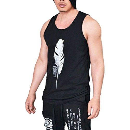 ✿✿ Men Tank Top, Xinantime Summer Muscle Shirt Bodybuilding Sleeveless Sport Fitness Vest Tops