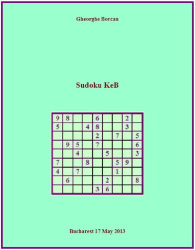 sudoku-keb-english-edition