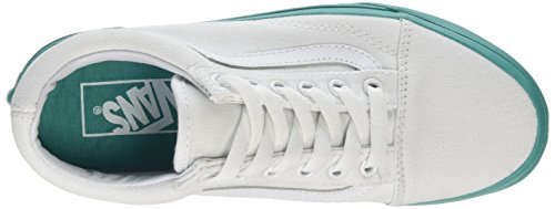 Vans Unisex-Erwachsene Old Skool Reissue Sneakers Grün ((mlx) True White/bright Aqua)