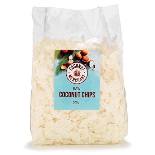 Coconut Merchant Organic Raw Coconut Chips, 500g Test