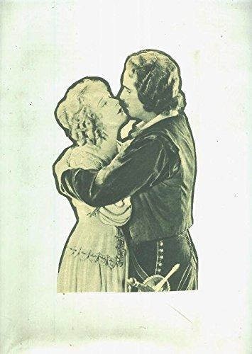 Douglas Fairbanks y Nigel de Brulier protagonistas de la pelicula La Mascara de hierro