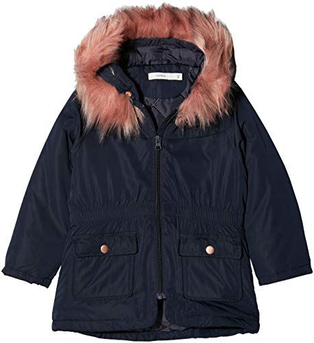 NAME IT Baby-Mädchen NMFMARLIS Jacket Jacke, Blau Sky Captain, 98