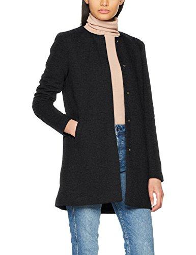 ONLY Damen Mantel Onlsidney Light Coat Otw Noos, Blau (Night Sky Detail:Melange), 38 (Herstellergröße: M)