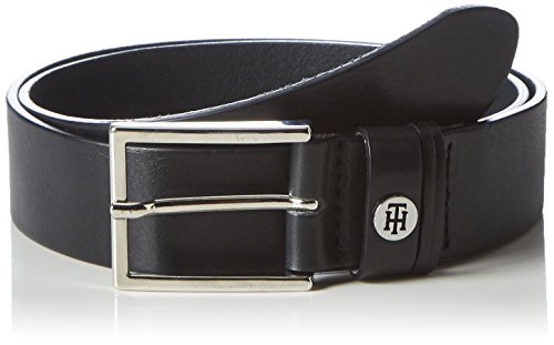 Tommy Hilfiger Classic Double Loop Belt 3.5, Ceinture Femme Rose (Tommy Navy)