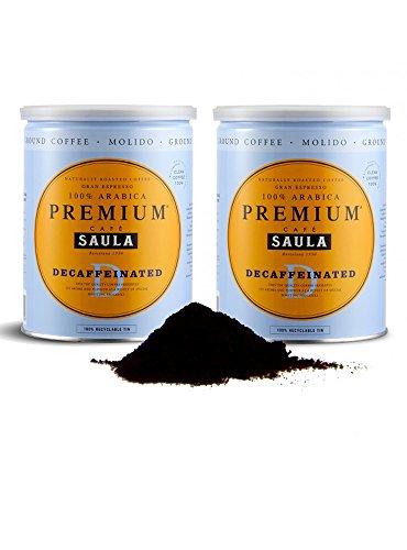 Gemahlener entkoffeinierter Premiumkaffee aus Spanien – 100% Arabica Espresso Mischung vom...