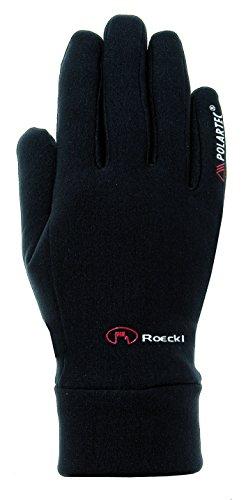 Roeckl Pino Winter Fahrrad Handschuhe lang schwarz: Größe: 7