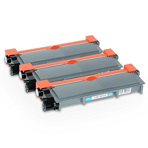 Logic-Seek 3 Toner kompatibel für Brother TN-2320 XL DCP-2500 2520 2540 2560 2700 Series D DW DN HL-2300 2320 2340 2360 2365 2380 Series D DW DN MFC-2700 2703 2720 2740 Series DW CW