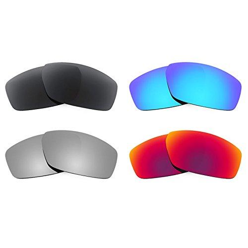 Revant Ersatzlinsen für Spy Optic Dirty Mo Polarisiert 4 Paar Kombipack K019