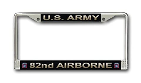 US Army 82nd Airborne Division License Plate Frame by Army License Plate Frames