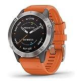 Garmin GPS-Multisportuhr Fenix 6 Sapphire Titan