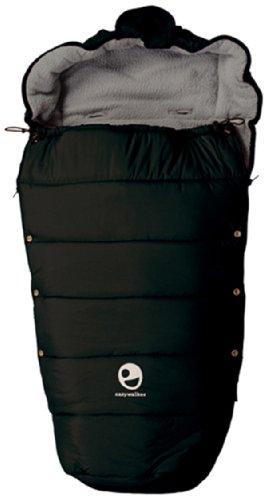 Easywalker - Saco para silla de paseo, color negro