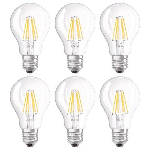 Osram Retrofit Dim Bombilla LED, E27, 7 watts, Blanco,