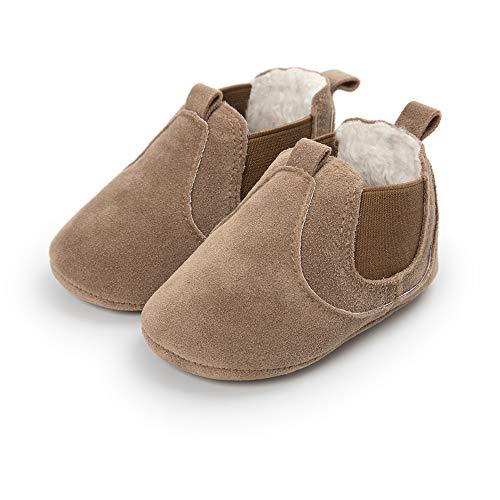 Morbuy Bebe Zapatos de Primeros Pasos Otoño e Invierno 0-18 Meses Recién Nacido Cuna Suela...
