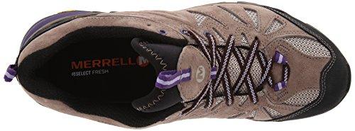 Merrell Capra, Chaussures de Trekking et Randonn&EacuteE Femme Taupe