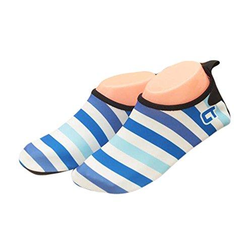 enfants Chaussures de plage de sport Chaussures d'eau douce Chaussures Indoor Sock Chaussures Bleu