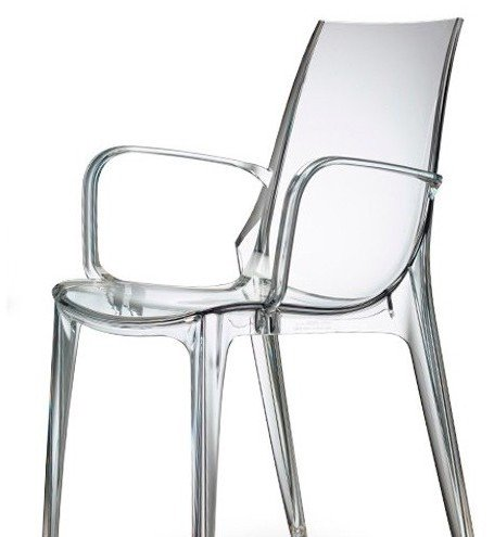 Scab design sedia trasparente vanity with sedie trasparenti - Sedia trasparente ikea ...