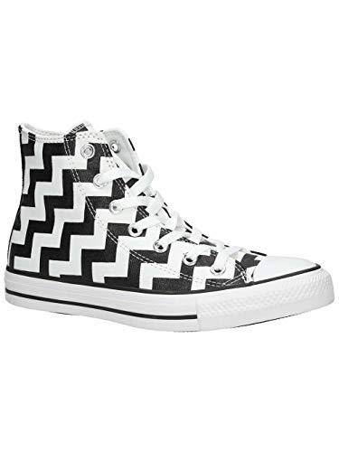 Converse Chuck Taylor All Star High Sneaker Damen weiß/schwarz, 8 US - 39 EU - 6 UK