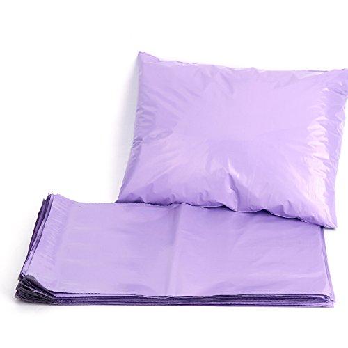 50 Mailing Postal Bags Purple St...