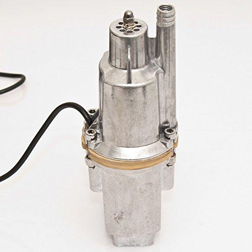 350 W Alu Wasserpumpe Ø 98 mm Tauchpumpe Membranpumpe Brunnenpumpe Gartenpumpe