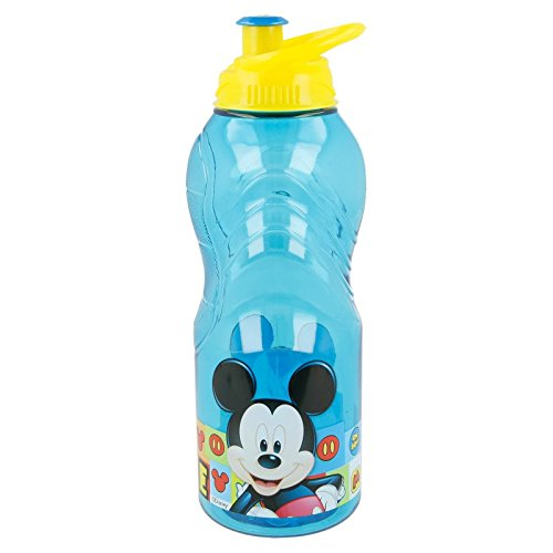 Stor Trinkflasche TRITAN Wave 400 ml | Mickey Mouse - Disney - Icons (Maus Mickey Versorgt)