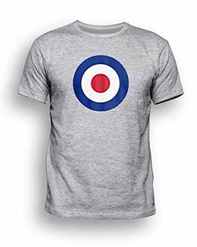 Reverb Clothing  Herren T-Shirt Gr. Large, Grau - Grau - Sport Grey (Reverb Rocker)