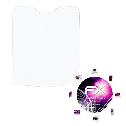 Samsung SGH-U100 Glasfolie - atFoliX FX-Hybrid-Glass hartbeschichtete elastische 9H Kunststoffglas Folie - besser als Echtglas Panzerglas