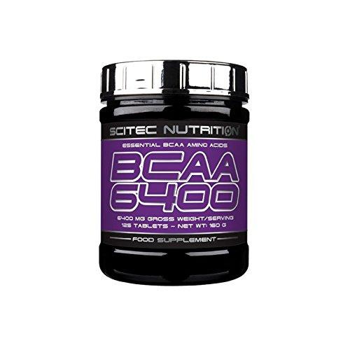 Scitec Nutrition Bcaa 6400 - Aminoácidos, 480 gr, 125 tabletas