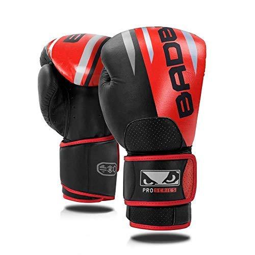 Bad Boy MMA pro Series Advanced Leder Boxhandschuhe - Schwarz, 16oz Bad Boy Leder