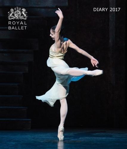 Royal Ballet desk diary 2017 por Flame Tree Publishing
