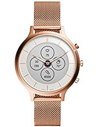 Fossil Charter Hybrid Hr Smartwatch White Dial Women's Watch - FTW7014