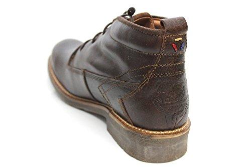 Wrangler POUR HOMME Desert avec doublure en fourrure marron foncé à lacets cheville bottes taille UK 6-12 Marron