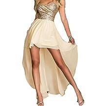 meet df48b 073c3 Amazon.it: Vestito elegante da cerimonia - Beige