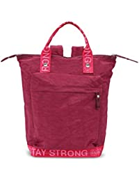 a1c79620fd155 George Gina   Lucy Rucksack MONOKISSED mit Tragegriffen mit stay strong  Logo wine fuxia strong 402