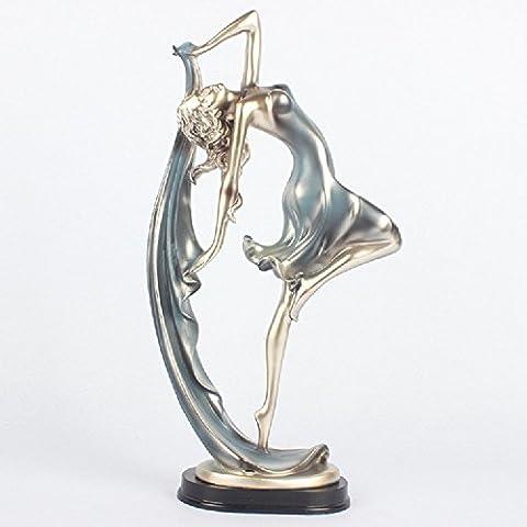XJoel statua scultura ballerino del partito Decorazione