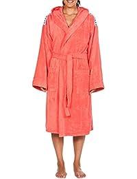Arena Core Soft Robe, Accappatoio Unisex Adulto, Rosa (Pale/Rose White), XS