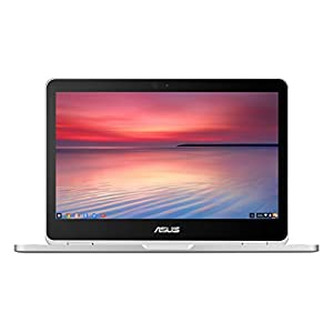 ASUS C302CA-GU010 360 Degrees Rotatable Full HD Touchscreen Chromebook Flip 12.5 inch Notebook (Intel Core M3-6Y30 Processor, 4 GB RAM, 64 GB eMMC, Chrome OS) – Silver