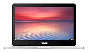 ASUS C302CA-GU010 360 Degrees Rotatable Full HD Touchscreen Chromebook Flip 12.5 inch Notebook (Intel Core M3-6Y30 Processor, 4 GB RAM, 64 GB eMMC, Chrome OS) - Silver