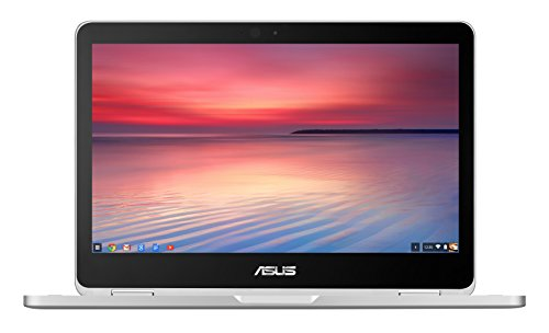 ASUS C302CA-GU010 360 Degrees Rotatable Full HD Touchscreen Chromebook Flip 12.5 inch Notebook (Intel Core M3-6Y30 Processor, 4 GB RAM, 64 GB eMMC, Chrome OS) - Silver
