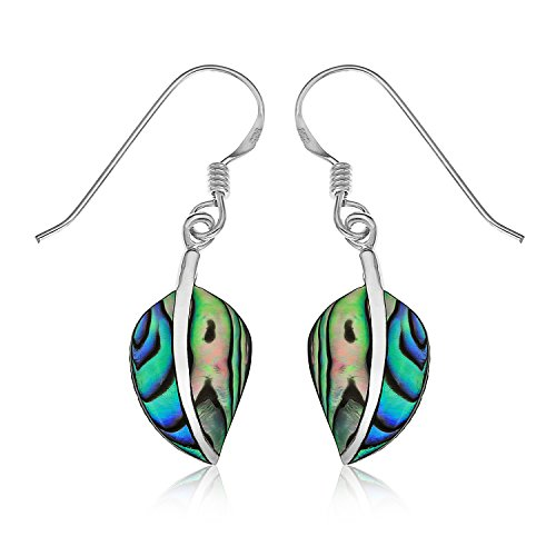ornami-sterling-silver-and-abalone-leaf-drop-hook-wire-fitting-earrings