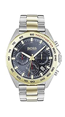 Hugo Boss Mens Chronograph Quartz Watch with Stainless Steel Strap 1513667
