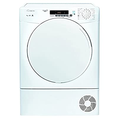 Candy CSC9DF 9kg Freestanding Condenser Tumble Dryer - White by Candy