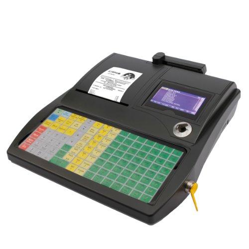 Olympia CM 980 F Registrierkasse (für Gastronomie, Kundendisplay, SD Karte und USB, Tastatur programmierbar, Abschließbare Kasse für Einzelhandel, Kassensystem mit PC Schnittstelle für Friseure)