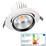 LEDVANCE OSRAM LED Downlight Spot Vario 35 Watt 830 warmweiß Strahler schwenkbar HIGH Output