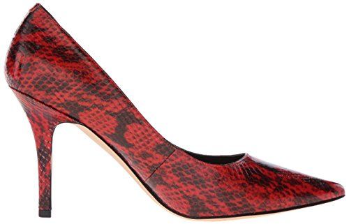 Nine West Jackpot Pump Robe synthétique Red Python