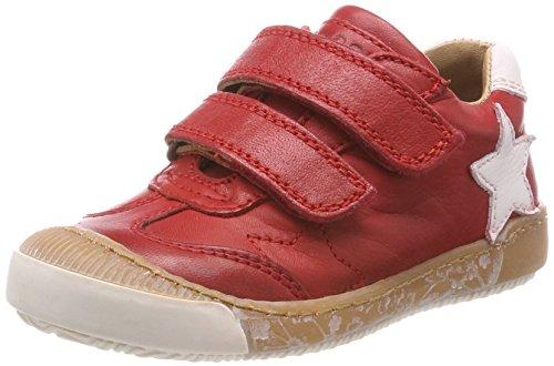 Bisgaard Unisex-Kinder Klettschuhe Sneaker, Rot (Red), 30 EU -