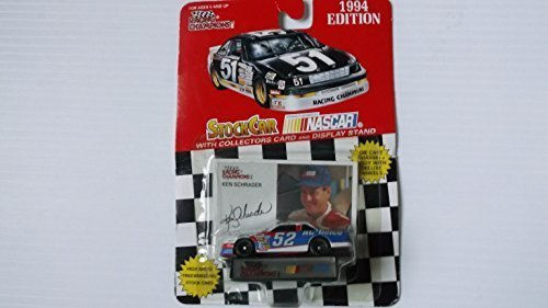 Racing champions 1/64 scale diecast stock car #2 Rusty Wallace with collectible card 1996 Edition by racing champions/helig-meyers