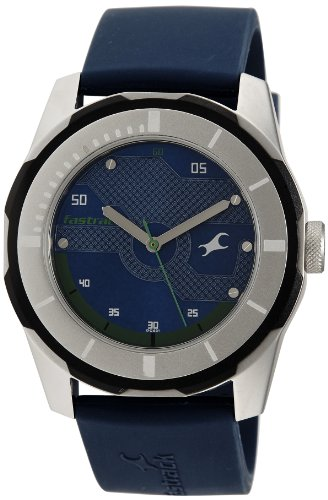 Fastrack Economy 2013 Analog Blue Dial Men's Watch - 3099SP05